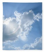 Cloudscape Fleece Blanket