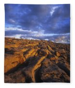 Cloudscape Over A Landscape, The Fleece Blanket