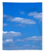 Cloudy With A Chance Of Sky Fleece Blanket