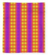 Clown Fractals Fleece Blanket