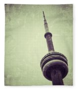 Cn Tower Fleece Blanket