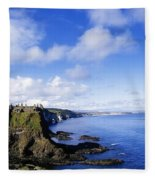 Co Antrim, Dunluse Castle Fleece Blanket