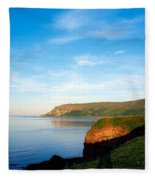 Co Antrim, Glenariff Or Waterfoot Fleece Blanket