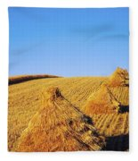Co Down, Ireland Oats Fleece Blanket