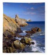 Co Dublin, The Bailey Lighthouse Fleece Blanket