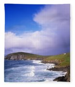Co Kerry - Dingle Peninsula, Dunmore Fleece Blanket