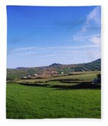 Co Kerry, Dingle Peninsula, Dunquin Fleece Blanket