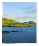 Co Kerry, Ireland Landscape From Fleece Blanket