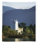 Co Kerry, Killarney, Ross Castle Fleece Blanket