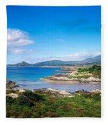Co Kerry, Ring Of Kerry, Castlecove Fleece Blanket