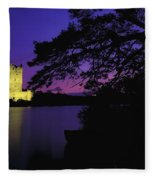 Co Kerry, Ross Castle, Killarney Fleece Blanket