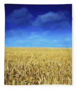 Co Louth,irelandwheat Field Fleece Blanket