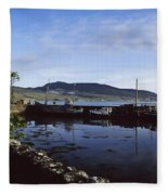 Co Mayo, Achill Sound Fleece Blanket