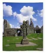 Co Offaly, Clonmacnoise Fleece Blanket