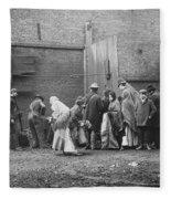 Coal Line, Nyc; 1902 Fleece Blanket