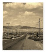 Coalinga Fleece Blanket
