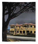 Coastal Architecture One Fleece Blanket