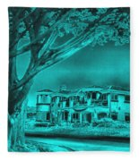 Coastal Architecture Two Fleece Blanket