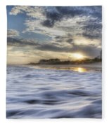 Coastal Currents Fleece Blanket