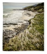 Coastal Grass Fleece Blanket