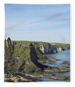 Coastal Seascape Fleece Blanket