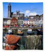 Cobh, Co Cork, Ireland, Cobh Cathedral Fleece Blanket