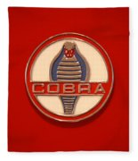 Cobra Emblem Fleece Blanket
