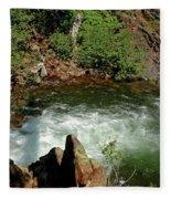 Cold Creek Waters Glen Alpine Creek Fleece Blanket