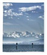Cold Lake Fleece Blanket