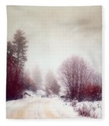 Cold Road Fleece Blanket