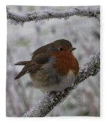 Cold Robin Fleece Blanket