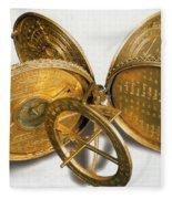 Cole Astronomical Compendium Dial, 1569 Fleece Blanket