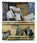Collection Of Artifacts Number 2 Fleece Blanket