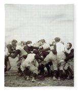 College Football Game, 1905 Fleece Blanket