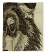 Collie Fleece Blanket