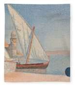 Collioure Les Balancelles Fleece Blanket