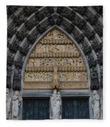 Cologne Cathedral Fleece Blanket