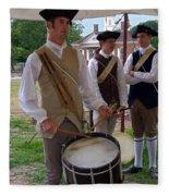 Colonial Drummer Fleece Blanket