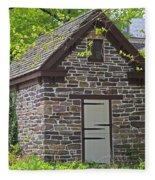 Colonial Stone Ice House Fleece Blanket