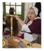 Colonial Wigmaker Fleece Blanket