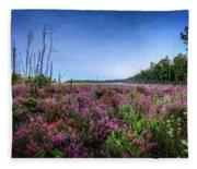 Color Of Summer Fleece Blanket