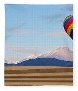 Colorado Ballooning Fleece Blanket