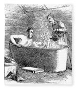 Colorado Bathhouse, 1879 Fleece Blanket