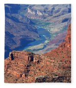 Colorado River I Fleece Blanket