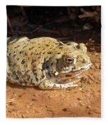 Colorado River Toad Fleece Blanket