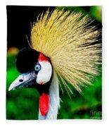 Colorful Bird Fleece Blanket