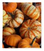 Colorful Gourds Fleece Blanket