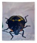 Colorful Hemiptera Nymph 1 Fleece Blanket