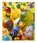 Colorful Marbles Two Fleece Blanket