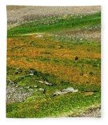 Colorful Mats Fleece Blanket